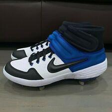 Nike Alpha Huarache Elite 2 Mid Baseball Cleats White AJ6874-104 Men's Size 9