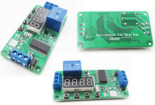 Dc 5v Multifunction Self Lock Relay Plc Cycle Timer Module Delay Time Switch