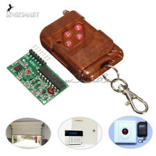 IC 2262/2272 4 CH Key Wireless Remote Control 315MHZ Receiver module For Arduino