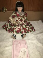 "Pauline's Limited Edition 22"" Porcelain Doll Kylie HTF"