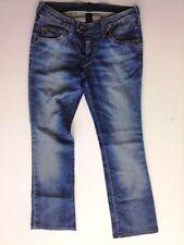 Lee Coral Curve Jeans Hose Dunkelblau Stonewashed W30 L31