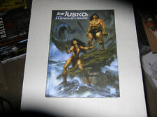Joe Jusko Maelstrom Sketchbook (2012) SIGNED FIRST EDITION HARDCOVER