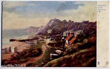 Steephill Cove, Isle of Wight, England Raphael Tuck Postcard - 792
