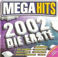 MEGAHITS 2002 DIE ERSTE / 2 CD-SET - TOP-ZUSTAND