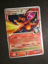 PL (damaged) Pokemon CHARIZARD G LV.X Card SUPREME VICTORS Set 143/147 PLAYED AP