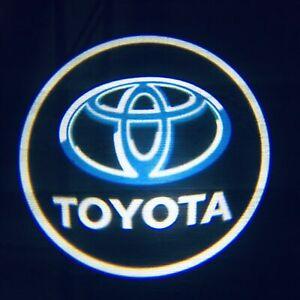 Car Logo Wireless LED Courtesy Car Door Ghost Shadow Projector Light TOYOTA 2PCS