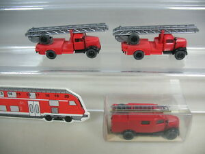 K956-0, 5 #3x wiking H0 Opel Blitz Fire Fw , 861, 862, Top + 1xOVP