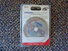 "Dremel Saw - Max "" Nip "" # Sm540 3 "" Tile Diamond Wheel "" Great Item """