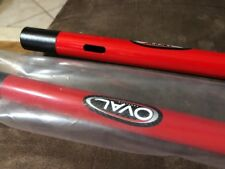 Oval Concepts Straight Bar Carbon Extensions Aero  Red