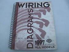 1997 Harley Davidson Wiring Diagrams Manual Catalog Book 99948-97 All models