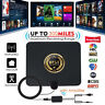 100Mile 1080P HD Digital Indoor Amplified TV Antenna HDTV with Amplifier VHF/UHF