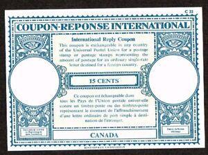 Canada, 15 cents Coupon Response International, unused      lot  1714