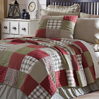 PRAIRIE WINDS QUILT SET-Choose Size & Accessories-Farmhouse Block VHC Brands