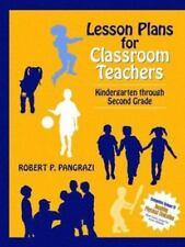 Lesson Plans for Classroom Teachers: Kindergarten through Second Grade