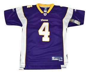Reebok NFL Youth Minnesota Vikings Brett Favre Premier Jersey NWT S, M, L