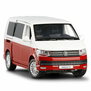 1:32 VW Multivan T6 2019 Model Car Diecast Toy Vehicle Collection Kids Gift Red
