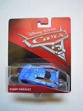 NOVITA' CARS 3 Disney pixar DANNY SWERVEZ nr.19 2017 RARO mattel 1/55 maclama