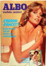 RIVISTA MAGS ALBO VARIETA MOTORI  N.7 1981 FARRAH FAWCETT MONICA GUERRITORE