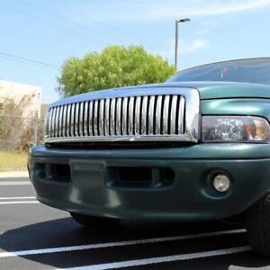 1994-2002 Dodge RAM 1500/2500/3500 Chrome Vertical Hood Grille HG-RAM94CVT NEW