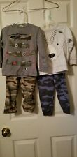 Boys toddler 2t Fall Winter Sets Carter's (lot of 2 outfits)
