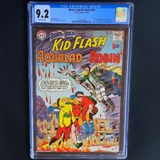 Brave and the Bold #54 (DC 1964) 💥 CGC 9.2 💥 1st Appearance of Teen Titans!