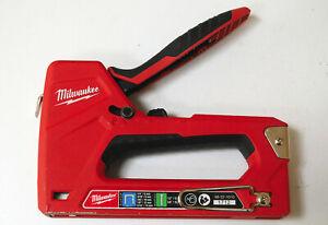 Milwaukee 48-22-1010 Hand Operated Staple Gun Stapler Brad Nailer NICE!