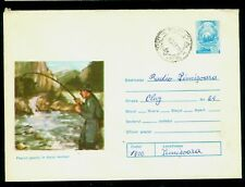 1975 Fishing,Fishing in the Mountain waters,Romania,cover