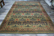 William Morris Style Arts & Crafts Area Rug **FREE SHIPPING**
