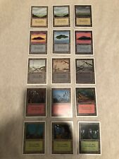 370+ Magic The Gathering Unlimited Edition Basic Lands