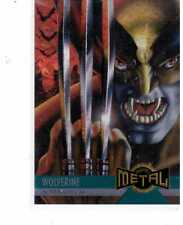 1995 Marvel Metal Near-Mint Condition Set of 138 Cards.