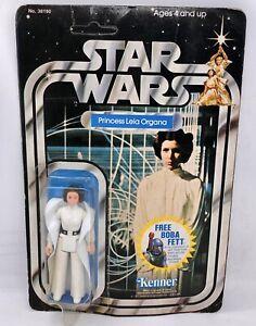 Star Wars vintage MOC Kenner carded Princess Leia organa 20 back free Sh. FEDEX