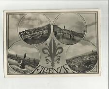 94818 vecchia cartolina di firenze