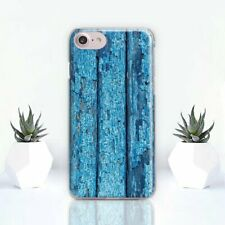 Wood iPhone 11 XR Case Blue iPhone 6s Silicone Cover Art Design iPhone 7 8 Plus