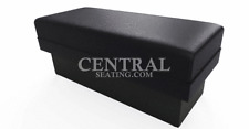 Waiting Room Seating Bench Restaurant Salon Spa Office BreakRoom Store 4' BLACK