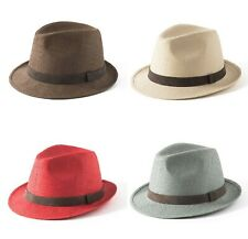 937ce4ee150dc7 Failsworth Summer Straw Trilby Hat (Natural/Red/Sage/Tobacco)