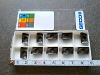 SECO XOMX 120408TR-ME08 MP2500 10 PCS CARBIDE INSERTS
