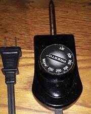 PRESTO Temperature Probe Electric Griddle Heat Control Power Cord 0690005