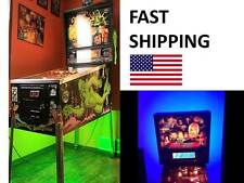 Back to the Future Pinball Machine mod COLOR CHANGING LED light kit part