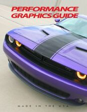 Color Chart for High Performance Automotive Marine Vinyl Graphics Stripes Decals