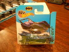 HTF Hot Wheels 2014 HW City Short Card Batmobile Blue 62/250 MONMC (see pic)