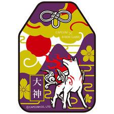 e-Capcon Okami Okamiden Omamori Amaterasu Sticker Good Luck Charm 2 sheets