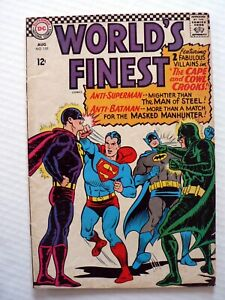World's Finest Comics #159 SILVER AGE (1966) Superman Batman Green Arrow RARE