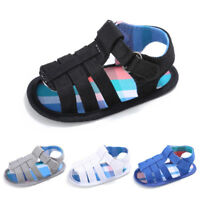 AU_ Fashion Baby Boy Cloth Soft Sole Sandals Prewalker Summer Anti-Skid Shoes Ch