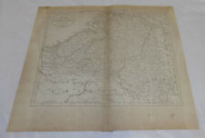 1811 Antique Map//AUSTRIAN, FRENCH, & DUTCH NETHERLANDS (& LUXEMBURG)
