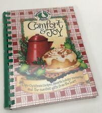 Gooseberry Patch Comfort & Joy Holiday Christmas Recipes Cookbook NEW