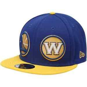 New Era Golden State Warriors Double Logo Whammy Snapback 950 9Fifty Hat NEW
