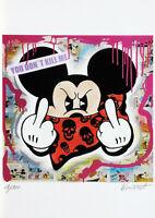 KENNART Kunst Grafik vom Original, Street Art, Pop Art, Bild, handsign.limitiert