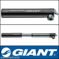 GIANT micro pompa piccola alluminio pompina gonfia bici mini pro pump pocket