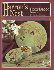 Harron's Nest Floor Decor & More Tole Book by Nancy Harron