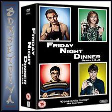 FRIDAY NIGHT DINNER - COMPLETE SERIES 1 2 & 3  *BRAND NEW DVD BOXSET***